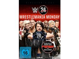 Wrestlemania Monday DVD