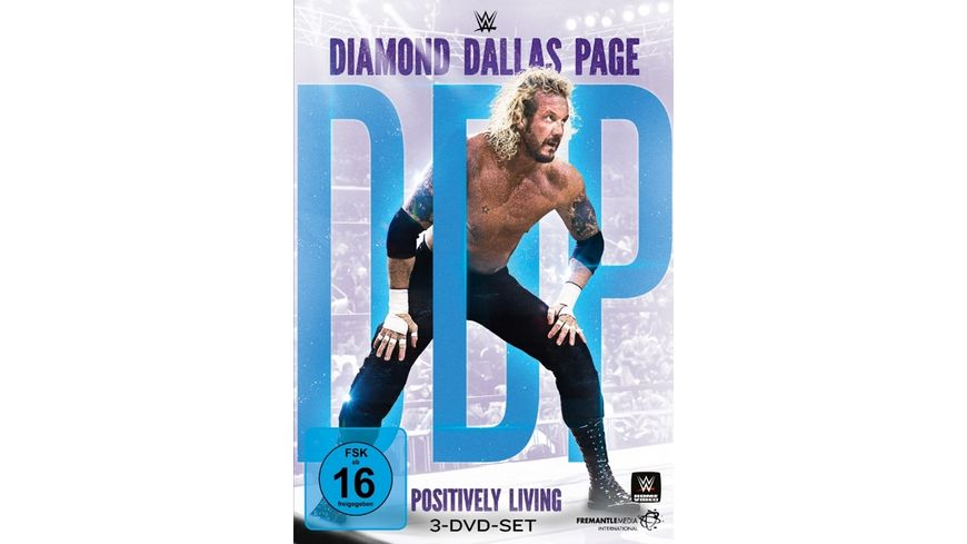 Page Diamond Dallas Positively Living DVD