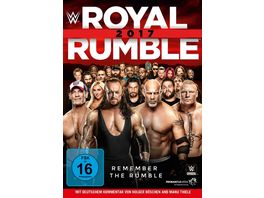 Royal Rumble 2017 DVD