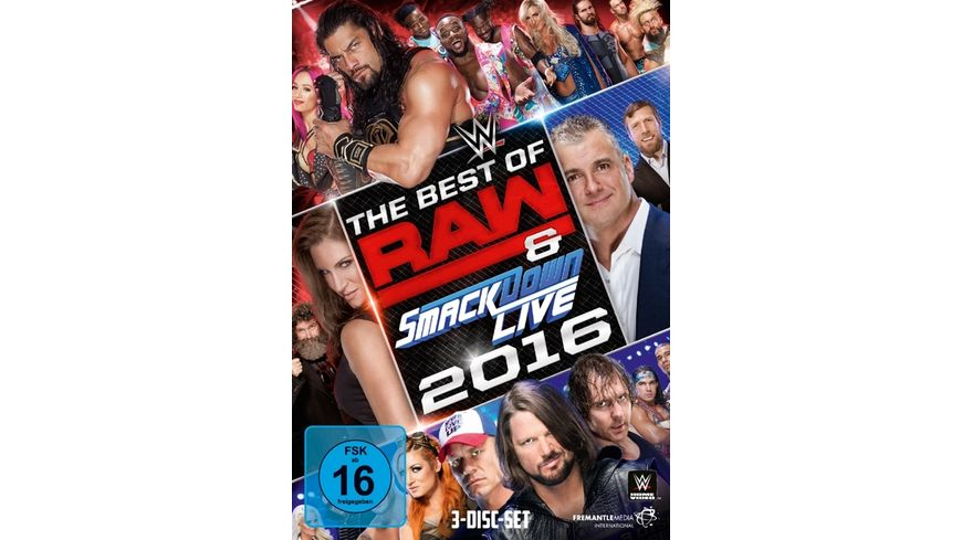 The Best Of Raw Smackdown Live 2016 DVD