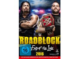 Roadblock 2016 End Of The Line DVD