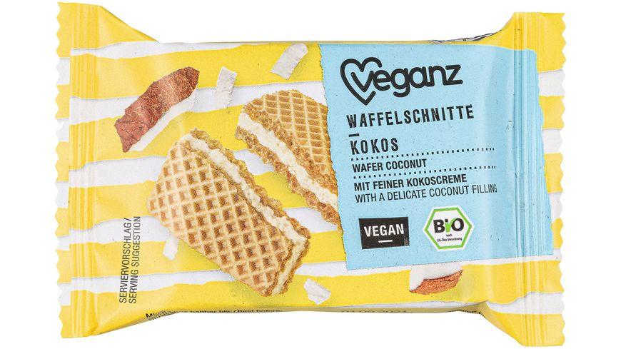 BIO Veganz Waffelschnitte Kokos