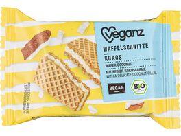 Veganz BIO Waffelschnitte Kokos