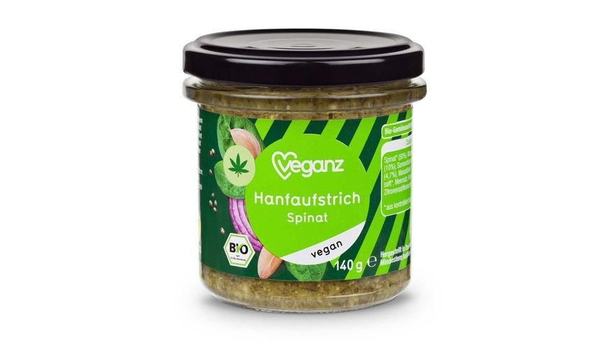 BIO Veganz Hanfaufstrich Spinat