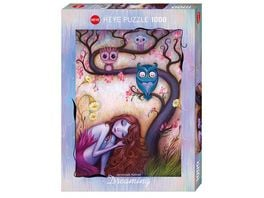 Heye Standardpuzzle 1000 Teile Jeremiah Ketner Wishing Tree