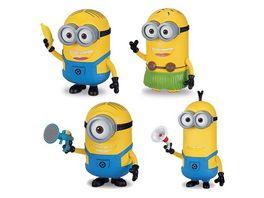 MTW Toys Original Minions Minions Despicable Me 3 lustige Actionfigur mit Licht und Soundeffekten sortiert