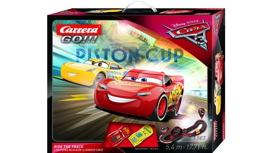 Carrera GO Disney Pixar Cars 3 Ride The Track