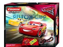 Carrera GO Disney Pixar Cars 3 Ride The Track