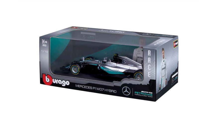 Bburago 1 18 F1 Mercedes AMG Petronas W07 Hybrid
