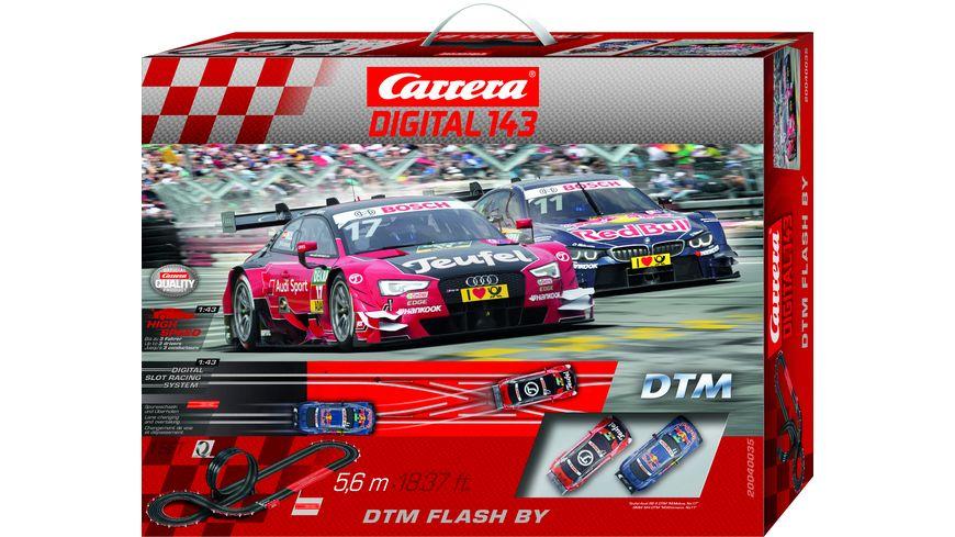 Carrera DIGITAL 143 DTM Flash By