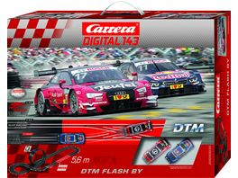 Carrera DIGITAL 143 DTM Flash By