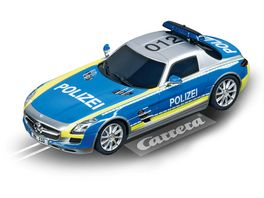Carrera DIGITAL 132 Mercedes SLS AMG Polizei