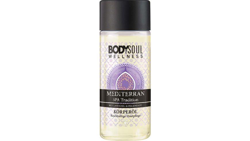 BODY SOUL Bodyoil Mediterran