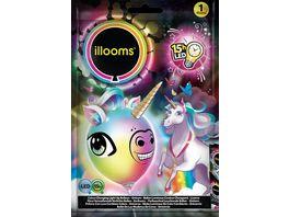 BOTI ILLOOMS Farbwechsel Leuchtender Ballon Einhorn