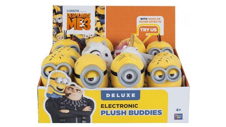 MTW Toys Original Minions elektrische Plueschfigur sortiert