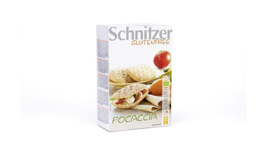 Schnitzer Glutenfree Bio FOCACCIA