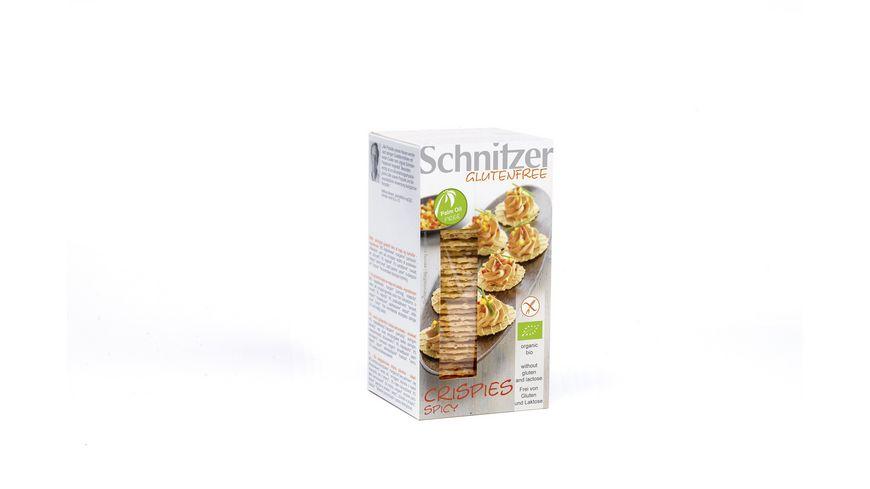 Schnitzer Glutenfree Bio CRISPIES SPICY