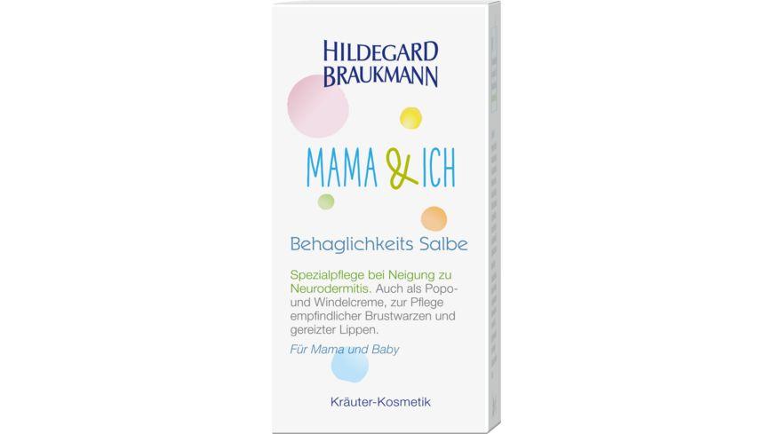 HILDEGARD BRAUKMANN MAMA ICH Behaglichkeits Salbe