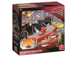Jumbo Spiele Disney Pixar Cars 3 Piston Cup Race Spiel