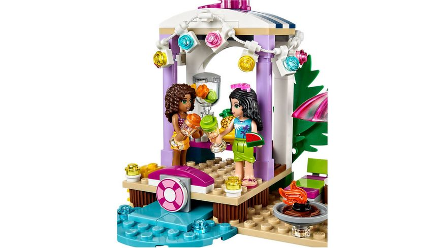LEGO Friends 41316 Andreas Rennboot Transporter