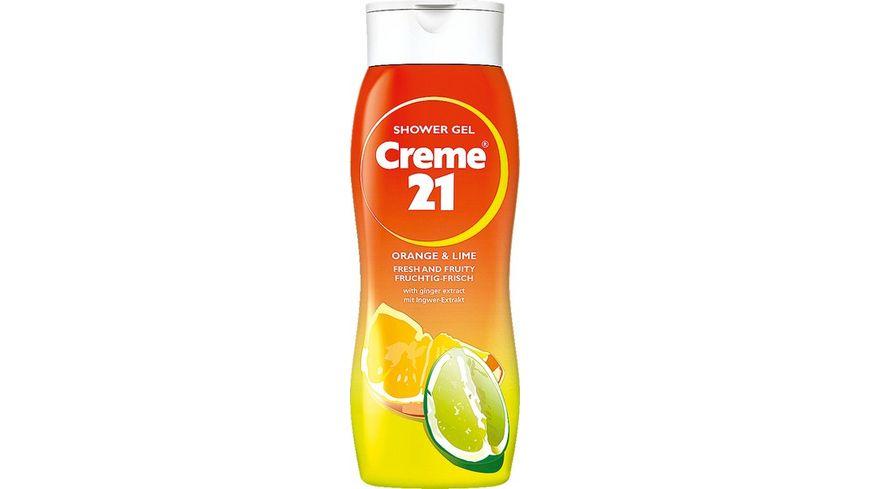 Creme 21 Showergel Orange Lime