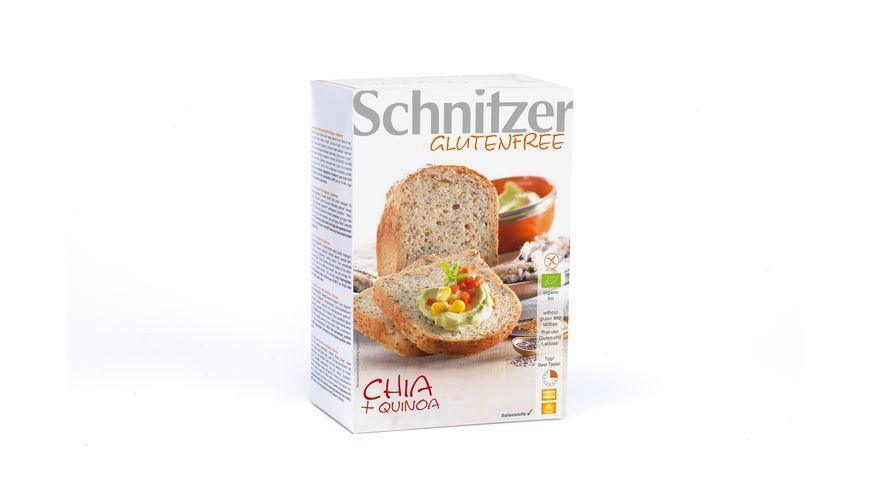 Schnitzer Glutenfree Bio CHIA QUINOA