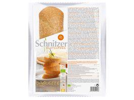 Schnitzer Glutenfree Bio BAGUETTE CLASSIC