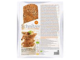 Schnitzer Glutenfree Bio BAGUETTE GRAINY