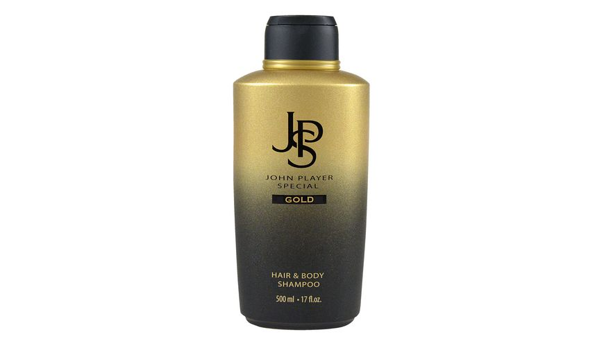 John Player JPS Special Shampoo BE GOLD Hair Body