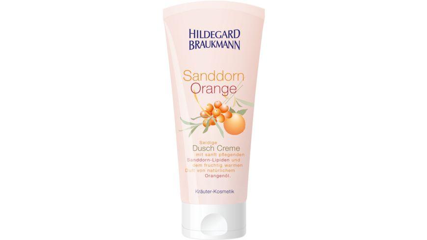 HILDEGARD BRAUKMANN Sanddorn Orange Creme Dusche