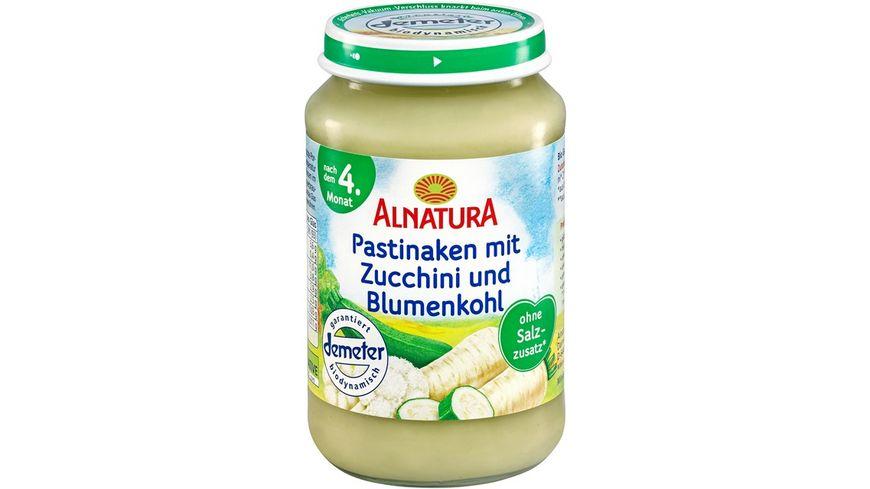 Alnatura Pastinake-Zucchini-Blumenkohl, 190g (nach 4. Mon.)
