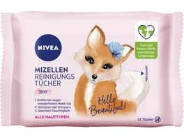NIVEA Mizellen Reinigungstuecher Designedition 25 Stueck