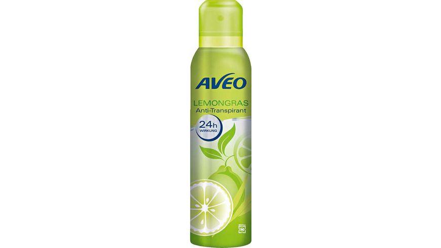 AVEO Deospray 24h Lemongras