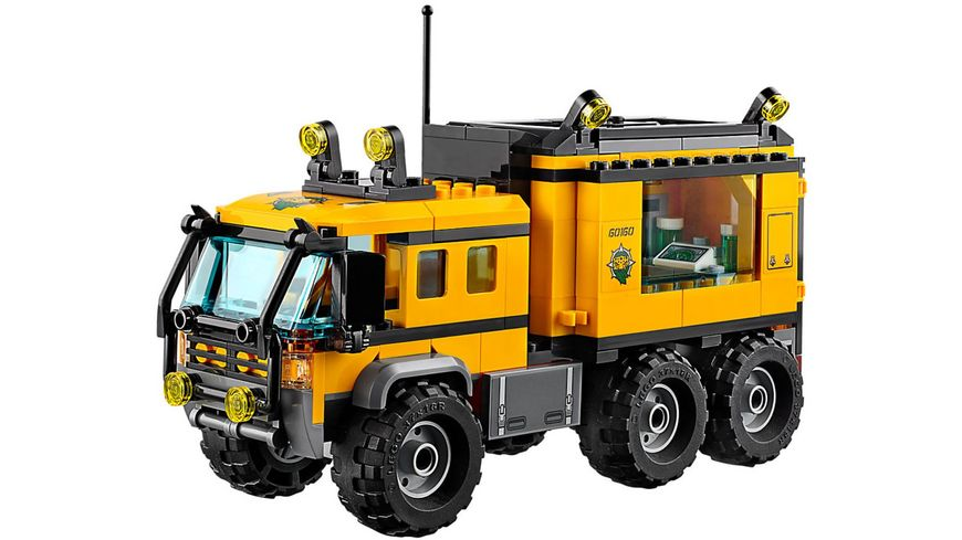 LEGO City 60160 Mobiles Dschungel Labor