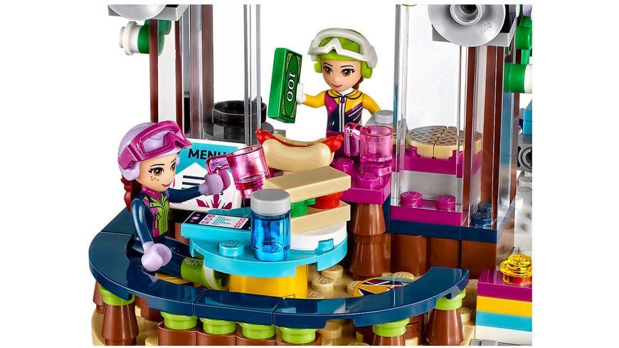 LEGO Friends 41324 Skilift im Wintersportort