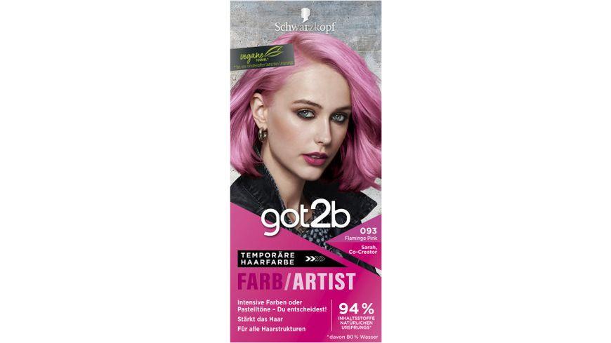 Got2b haarfarbe pink
