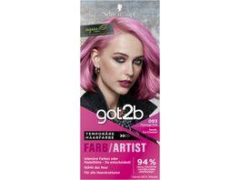 Schwarzkopf got2b Farb Artist Flamingo Pink 093 Stufe 1