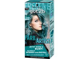 Schwarzkopf got2b Farb Artist Mermaid Gruen 097 Stufe 1