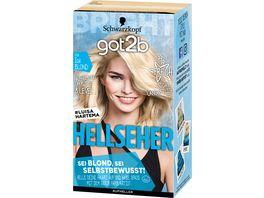 Schwarzkopf got2b Hellseher Ice Blond 00A Stufe 3