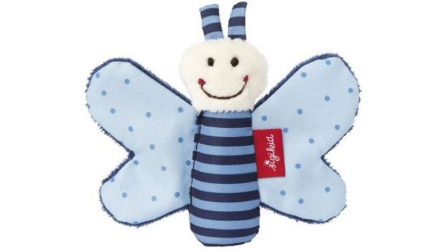 sigikid Knister Schmetterling blau Red Stars Collection