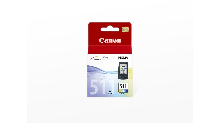 Canon Druckerpatrone CL 511 Multipack