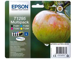Epson Druckerpatrone T1295 Multipack Apfel