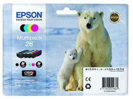 Epson Druckerpatrone T2616 Multipack Eisbaer
