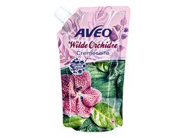 AVEO Cremeseife Wilde Orchidee Nachfuellbeutel