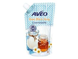 AVEO Cremeseife Milk Honey