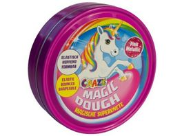 CRAZE Magic Dough Magische Superknete Einhorn Edition sortiert