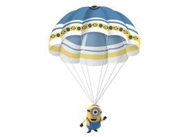 Beluga Parachuter Minions