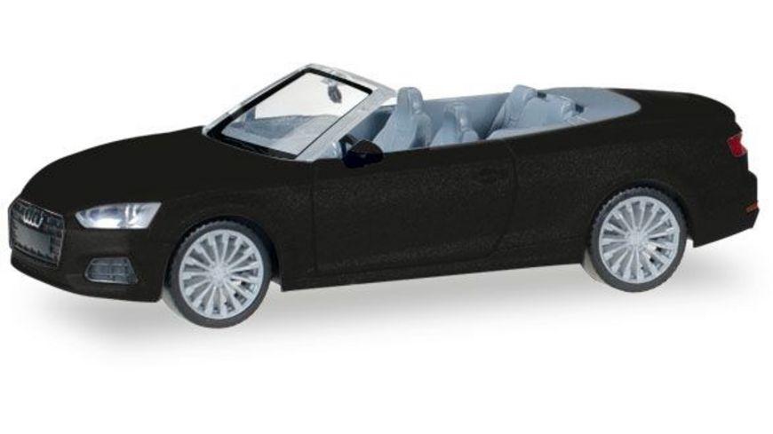 Herpa 038768 Audi A5 Cabrio mythosschwarz metallic