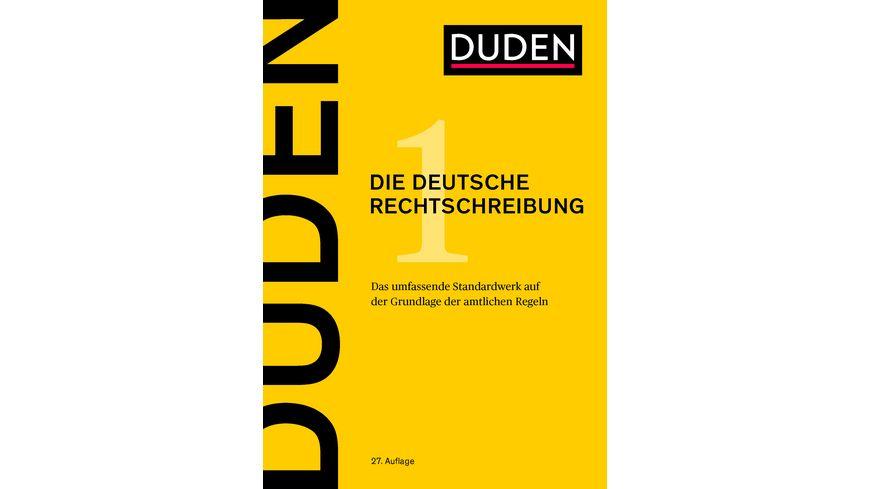 Duden 1 Deutsche Rechtschreibung