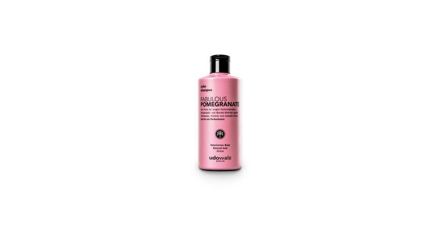 Udo Walz Pomegranate Shampoo